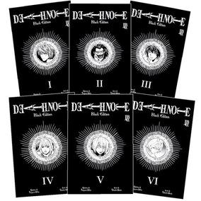 Box Death Note Black Edition 1 A 6 - Jbc