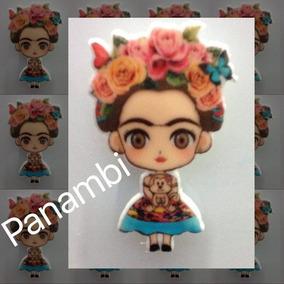 Kit 20 Imãs De Geladeira Frida Kahlo Para Lembrancinha