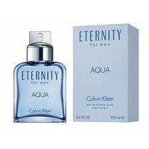 Perfume Eternity Aqua Calvin Klein Masculino 100ml Edt Novo