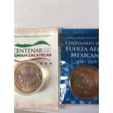 Monedas De 20 Pesos En Blister Original Del Bm