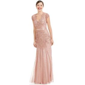 Vestidos de noche en color palo de rosa