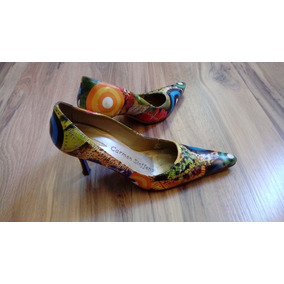 8e4fb8e765 Scarpin Verde Musgo Feminino - Sapatos no Mercado Livre Brasil