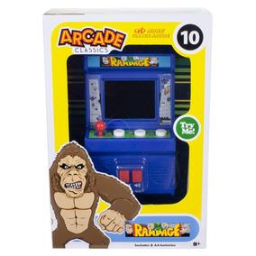Arcade Classics Rampage Mini Maquina De Juego Con Sonido