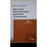 Manual De Procedimientos Especiales Contenciosos