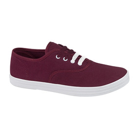 Tenis Casuales Mirage Port Dama Blanco Rojo Rosa