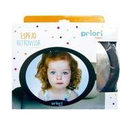 Espejo De Auto Para Bebé Vista 360 Grados Ovalado Priori