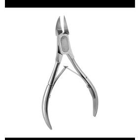 2 Alicates De Cortar Unha Profissional Aço Inox Manicure