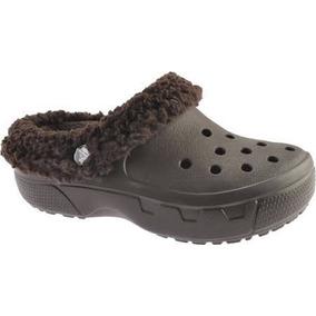 Sandália Crocs Crocband Original Com Forro Felpudo C Frete