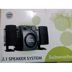 Corneta Speaker Systems Subwoofer 2.1