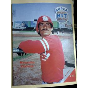 Beisbol México Super Hit Diablos Rojos Mauricio Zazueta 1992