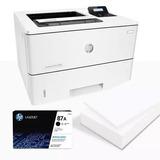 Hp Impresora Laser Pro M501dn + Obsequio Resma De Papel