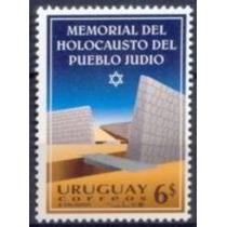 Selo Uruguai,memorial Holocausto Povo Judeu 95,mint.ver Dscr