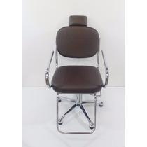 Poltrona Cadeira Larissa Fixa Moveis Para Salão De Cabele