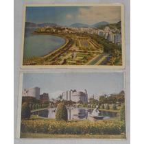 Cartão Postal Lote C/2 Rio De Janeiro Tradimex 7 E 14 Anos50