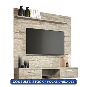 Panel Suspendido Para Tv Flat Aspen Districomp
