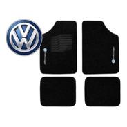 Jogo Tapetes Ecotap Soft Carpete Universal Volkswagen Preto
