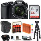 Nikon Coolpix B500 16mp Cámara Digital ( Negro ) + 32gb Tar