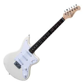 Guitarra Eléctrica Jaguar Vintage Zaion G-vg Blanca