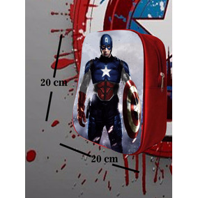 Mochilas Dulceros Super Heroes Capitan America