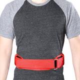 Cintura Trasera Fuerte Apoyo Levantamiento De... (xl, Red)