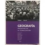 Libros De Geografia Santillana,mundo,argentina,america,glob.