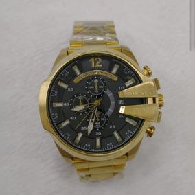 e079599d0b1 Relogio Dourado Barato Masculino Diesel - Relógios De Pulso no ...
