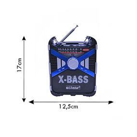 Bivolt Rádio Portátil Luz Micro Promoção Música Aparelho Som