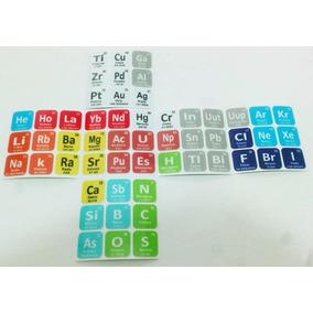 cubo rubik stickers tabla periodica 54 elementos - Tabla Periodica En Memorama