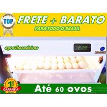 Chocadeira Digital Até 60 Ovos Manual Resistência Brinde