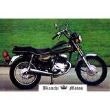 Silenciador Honda Cm 200 Twinstar Tipo Original Bianchi Moto