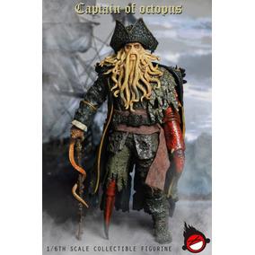 1/6 Xd Toys Piratas Do Caribe Davy Jhones - N Hot Toys