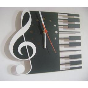 Relógio Instrumentos Musicais Guitarra Teclado Frete 20,00