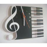 Relógio Instrumentos Musicais Guitarra Teclado Frete 10,00