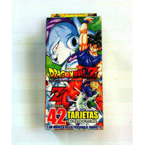 Dragon Ball Z Tarjetas De Poder/batalla (42 Piezas)