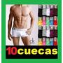 Kit/ Lote Com 10 Cuecas , Fornecedor De Cuecas Para Revenda