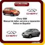 Chery Qq6 Manual Taller Servicio Reparación Ingles