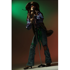 Janis Joplin Cantora Rock Musico Spawn Mc Farlane Novo Rck1