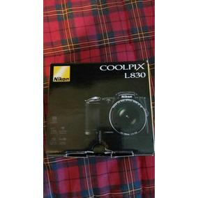Camara Nikon Coolpix L830 Zoom 34x 16mp, Moron