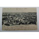 Cartão Postal-panorama De S.paulo Iii - Circulado 1906