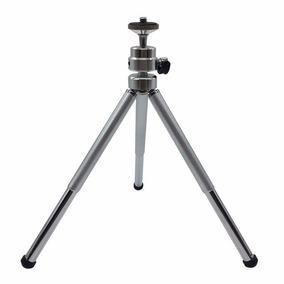 Mini Tripé Câmera Digital Maquina Fotográfica Universal Exte