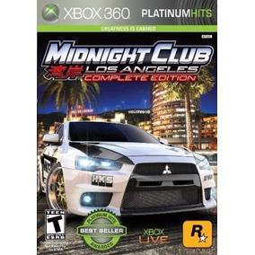 Midnight Club Los Angeles Complete Edition Xbox360 Física