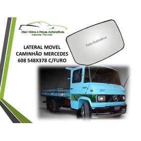 Vidro Lateral Móvel Caminhão Mb 608 C/furo