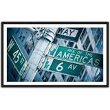 Quadro Decorativo Cidades Famosas Salas Ruas Nova York 4