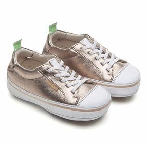 Tênis Infantil Funky Gold Sparkle - Tip Toey Joey
