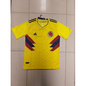 Camisa Selecion Colombia Rusia 2018 Hombre Dama Niño