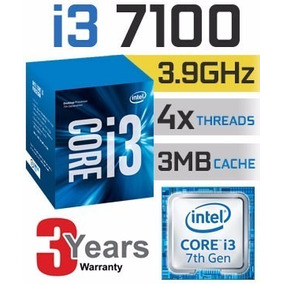Intel Core I3 - 7100, Kit: Placa Mãe
