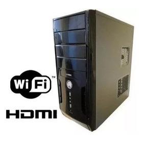 Cpu Nova Intel Core I3 8gb Hd 500gb Hdmi Dvd Wifi
