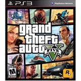 Juego Grand Theft Auto V Para Ps3 Nuevo Sellado Fisico