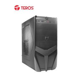 Te Case Teros Te-dn303, Mid Tower, Atx, 600w, Sata, Usb 2.0/