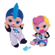Boneca Babys Collection Mini Rock Baby 410